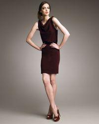 Alice + Olivia | Purple Danya Blouson Dress | Lyst