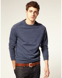 ASOS Collection Brown Asos Leather Jeans Belt for men