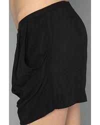 Cheap Monday Black Janelle Shorts