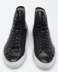 Common Projects | Black Tournament High for Men | Lyst