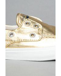 Converse | The Boat Slip Shoe in Metallic Gold for Men | Lyst
