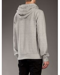 Dolce & Gabbana Gray Coca Cola Hooded Sweater for men