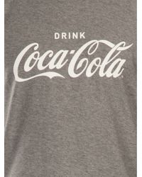 Dolce & Gabbana Gray Coca Cola T-shirt for men