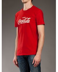 Dolce & Gabbana Red Coca Cola T-shirt for men