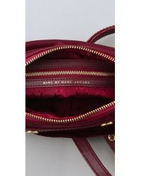 Marc By Marc Jacobs | Red Preppy Nylon & Leather Camera Bag | Lyst