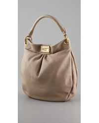 Marc By Marc Jacobs | Natural Classic Q Hillier Hobo Creme | Lyst