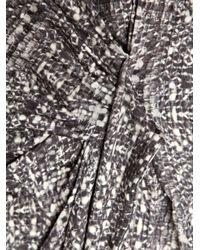 Max Mara Studio   Gray Long Sleeve Dress   Lyst