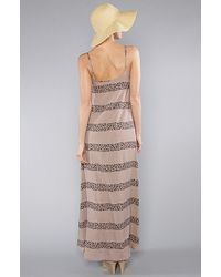MINKPINK - Brown The Zulu Maxi Dress in Mocha - Lyst