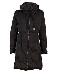 Moncler Nim Knee-length Coat in Black