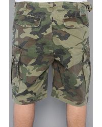 Obey | Green Recon Cargo Shorts for Men | Lyst