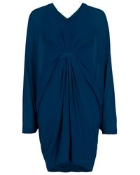 Willow | Blue Batwing Drape Dress | Lyst