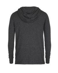 AllSaints - Gray Alpha Hoodie for Men - Lyst
