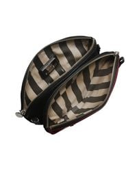 Lulu Guinness | Red Black Cherry Doll Face Clutch | Lyst