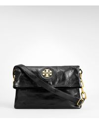 Tory Burch | Black City Messenger Bag | Lyst