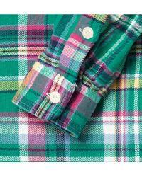 Polo Ralph Lauren Green Oxford Shirt for men