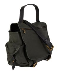 Jas MB   Black Green Riley Leather Satchel Bag   Lyst