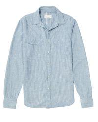 Rag & Bone   Blue Trail Shirt for Men   Lyst