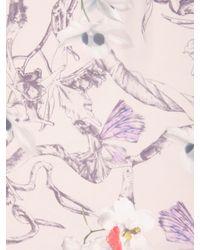Ted Baker Multicolor Kayna Flower Fairy Print Wrap Cream