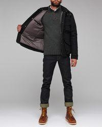 Woolrich - Gray Field Jacket for Men - Lyst