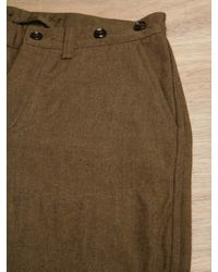 Nigel Cabourn Brown Nigel Cabourn Mens Mainline Officer Breeches for men