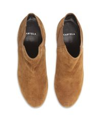Carvela Kurt Geiger Brown Arthur Leather Boot