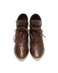 Loeffler Randall - Brown Kasia Ankle-tie Bootie - Lyst