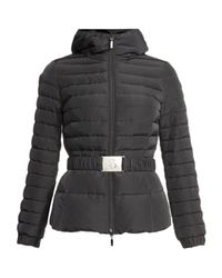Moncler | Black Paquerette Quilted Jacket | Lyst