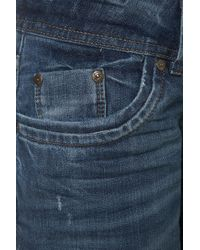 TOPSHOP - Blue Fashion Targets Breast Cancer: Moto Mom Jeans - Lyst