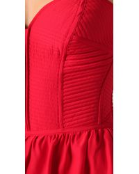 Parker - Red Strapless Top - Lyst