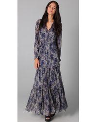 Elizabeth and James | Blue Marilyn Maxi Dress | Lyst