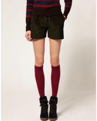 Falke | Red Soft Merino Knee High Socks | Lyst