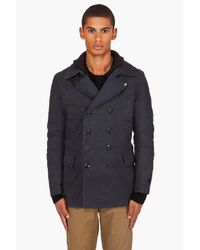 G-Star RAW | Blue Cl New Rib Coat for Men | Lyst