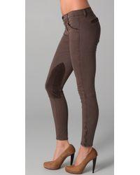 J Brand | Brown Riding Pants | Lyst