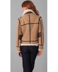 Joie - Natural Janis Shearling Jacket - Lyst