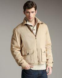 Polo Ralph Lauren | Brown Delemar Reversible Newsboy Jacket for Men | Lyst