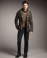 Ralph Lauren Black Label Green Escape Jacket W/tabard for men