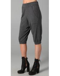 Rosel | Gray Knickerbocker Cropped Pants | Lyst