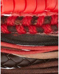 ASOS Collection | Multicolor Asos Comanche Bracelet Pack for Men | Lyst