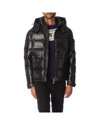 Moncler Black Maya Padded Jacket for men