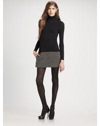 Theory | Black Lavindina Multi-tweed Dress | Lyst