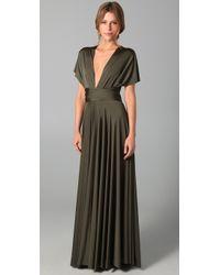 Twobirds | Green Long Convertible Dress | Lyst