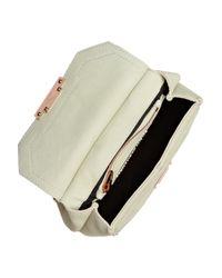 Alexander Wang - Natural Marion Textured-leather Shoulder Bag - Lyst