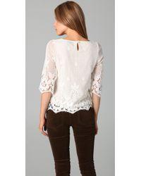 Beyond Vintage | White Lace Blouse | Lyst