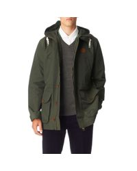 Fred Perry Green Mountain Parka for men