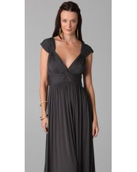 Rachel Pally   Gray Cap Maxi Dress   Lyst