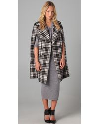 Robert Rodriguez | Black Double-breasted Cape | Lyst