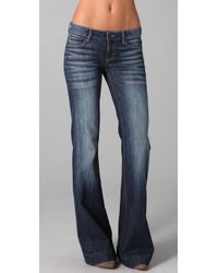Siwy | Blue Penelope Classic Pocket Flare Jeans | Lyst