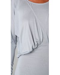 The Addison Story | Blue Dolman Sleeve Jersey Dress | Lyst