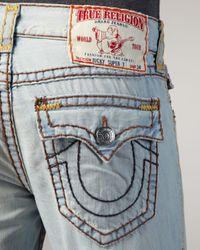 True Religion | Gray Ricky Super T Tulsa Jeans for Men | Lyst