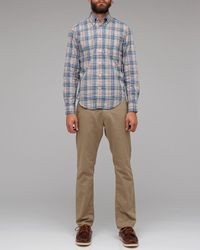 Gant Rugger | Blue New Haven Poplin for Men | Lyst